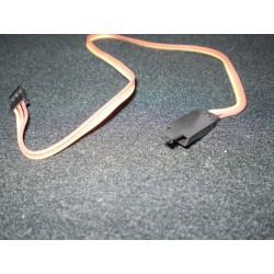 Servo Extensie Uni Kabel met safety clip,62,5 cm