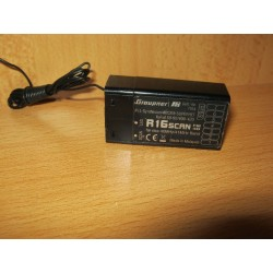 Graupner/JR R16  Scan FM 40 /41 Mhz ontvanger