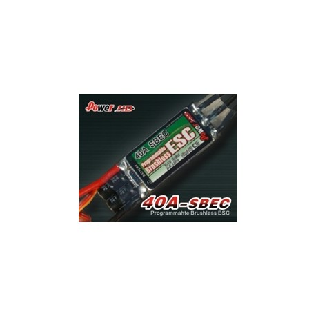 Power HD Brushless ESC 40 Amp Speed Controller