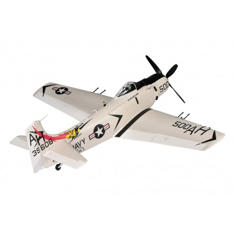Top RC Hobby Douglas A1 Skyraider PNP Wit