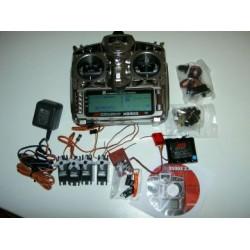 JR X9303 2,4 GHz DSM 2 Radio Complete set met Servo's