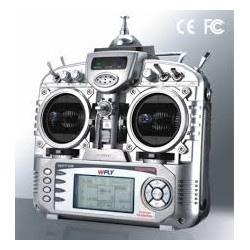 Wfly WFT 09 ,2.4 GHz Radio Control System 9 channels