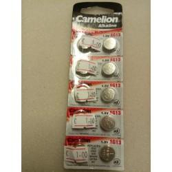 Camelion Alkaline knoop cel batterij AG 13