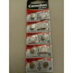 Camelion Alkaline knoop cel batterij  AG 5