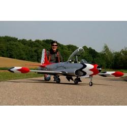 FBJets/FeiBao Lockheed T-33 T Bird Schaal 1 : 4,5