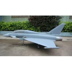 FBJets Feibao EF-2000 Typhoon schaal 1 : 7 ARF Model for 120 -160 Newton Turbine