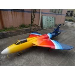 FBJets Feibao  Hawker Hunter  ARF Kit voor 180-220 Newton Turbine