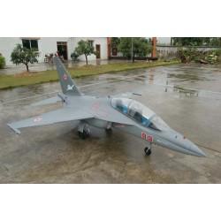 JetLegend Yak- 130 Schaal 1 : 4 ARF voor 2x 120 Newton Turbines