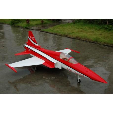 JetLegend F-20 Tigreshark Schaal 1 : 6 voor 8- 12 kg Turbine