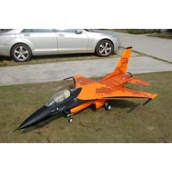 JetLegend F-16 Fighting Falcon Schaal 1 : 5 voor 18-22 Kg Turbine