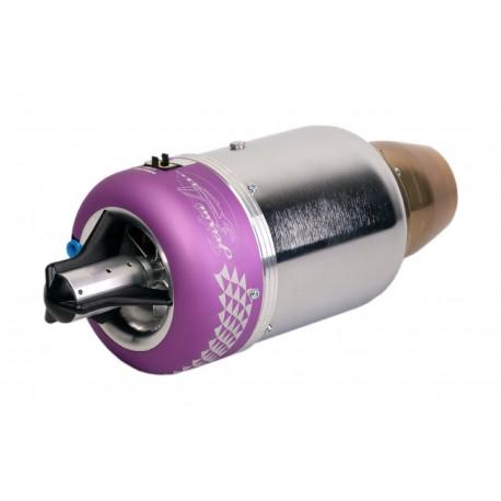 JetCat P180-NX Micro Stral Turbine ,Stuwkracht 175 N ( 17,5 Kg)