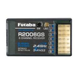 Futaba R2006GS , 2,4 GHZ  6 kanaals