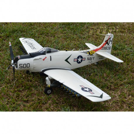 Top RC Hobby Douglas A1 Skyraider PNP Blauw