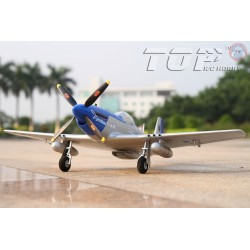 Top RCF Hobby P-51D Mustang 800 mm PNP Blue