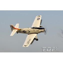 Top RC Hobby Douglas A1 Skyraider RTF grijs/wit
