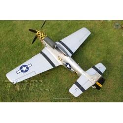 Top RCF Hobby P-51D Mustang 800 mm Rtf Blue