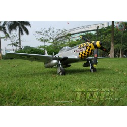 Top RCF Hobby P-51 Mustang 800 mm PNP Yellow