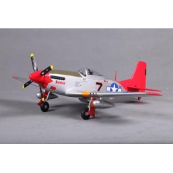 FMS P-51D Mustang PNP Red Tail 800mm Serie